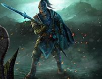Website design for Stormfall: Age of War (Test task)