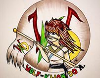 Wolf-Kwon Do Administration Logo