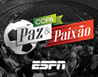 ESPN - Logo do Reality Copa Paz e Paixão