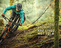 SCOTT Sports, 2017 Bike Print Ads