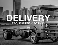 Campaña de lazamiento Delivery, Volkswagen.