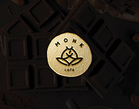 Monk Cafe Brand Identity