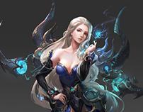 Character Design for Xuan Yuan Legend II (轩辕传奇II)