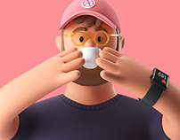 Pitch 3D Brand Illustrations