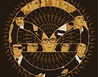 Kingsman: The Golden Circle Poster Illustration