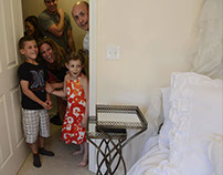 Girl with leukemia gets bedroom makeover