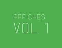 Affiches Vol 1