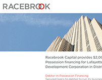 Racebrook Capital Ad Series