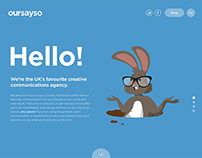 Oursayso's new website
