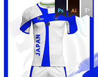 Japan Home kit- 2016 Kabbadi World Championship