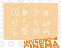 Cartaz Inverno de Cinema