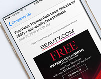 Beauty.com email-optimize for mobile