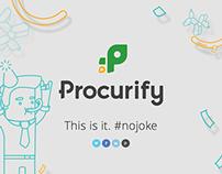 New logo launch #nojoke