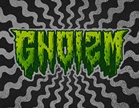 GNOIZM horror logo