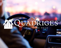 QUADRIGES : Naming & Logo