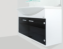 Colorglass: фотосъемка мебели для ванны
