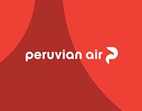 Peruvian Air Brand Identity