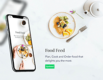Food Feed - Mobile App