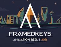 FramedKeys | Animation Reel 2016