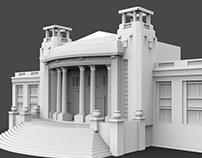 3D print of Casino Viña del Mar