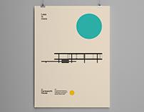 Farnsworth House, Bauhaus Poster Design