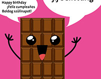 Happy Birthday chocolate!