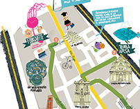 Foggia (Apulia) City Center Map