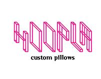 Hoopla Custom Pillows