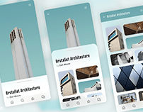 Architecture Gallery · Concept app