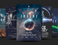 SPACE Premium Flyer Bundle