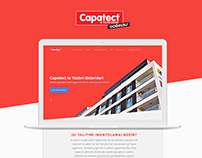 Capatect Landing Page