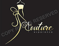 Couture Esperanza Logo and Business Card Design