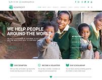 Home Page - Nonprofit WordPress Theme