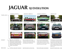 JAGUAR XJ Evolution study