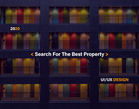SEARCH FOR THE BEST PROPERTY - UI/UX DESIGN