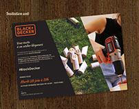 Invitation soirée Black & Decker