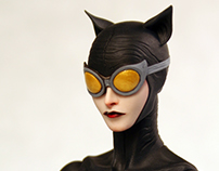 Action Figure of Jae Lee's Catwoman