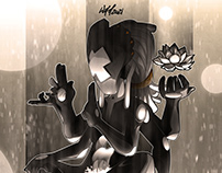 Mage - vector artwork by Wam2021