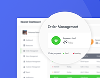 Order Management - Dashboard Concept