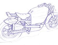 BMW Motorrad Sketches