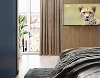 wild bedroom