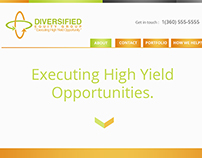 Diversified website