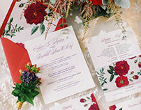Terd & Rachel Wedding Invitation