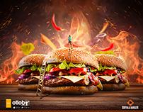 Buffalo Burger - 1 Year Free Burger Campaign