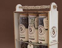 Packaging para café y creación de identidad