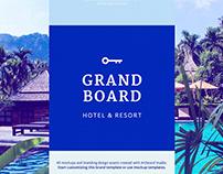 Grand Board - Branding design with Artboard Studio