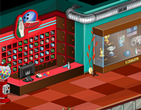 Sanalika Environment Design - Bowling Saloon