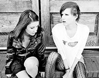 Bringing the grungy 90s girl band back (photoshoot)