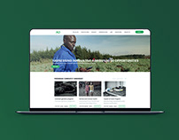 Proposed Website for Agridrive Limited, Kenya