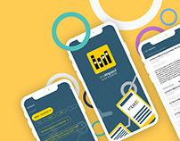 Impact Mobile App UX/UI Redesign